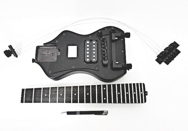 全長60cmの高級エレキギター